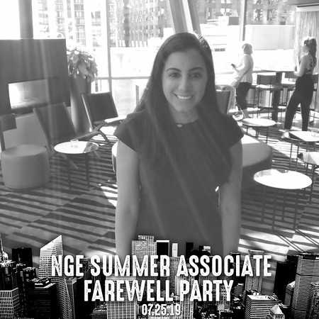 NGE Summer Associate Farewell Party (07/25/19)