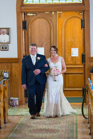 Deanna + Tad Mackinac Island Wedding