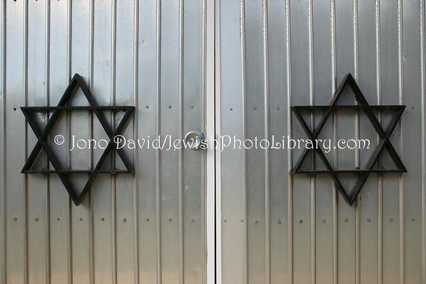 AUSTRALIA, South Australia, Adelaide. Jewish sector, Centennial Park Cemetery. (8.2010)