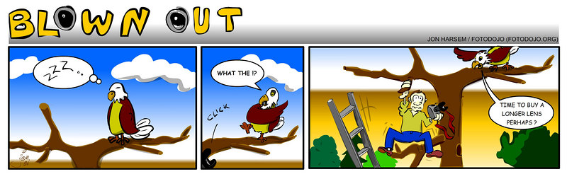Comic: Blown Out