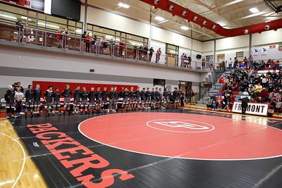 High School Wrestling - 2/14/2018 Team Regionals Kent City