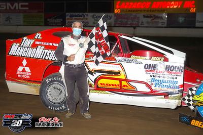 Albany-Saratoga Speedway - 9/4/20 - Mark Brown