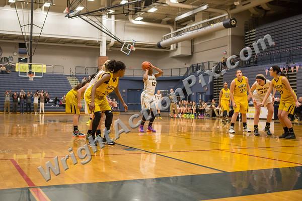 2015 02 13 Clarkston Varsity Girls Basketball vs North Farmington