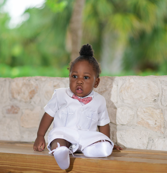 Alvarez McCoy baby christening
