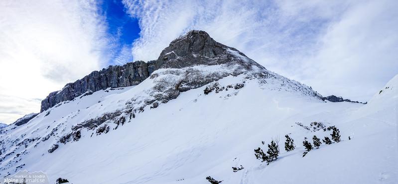 Windecksattel ski tour, Kleinwalsertal 2015-02-14