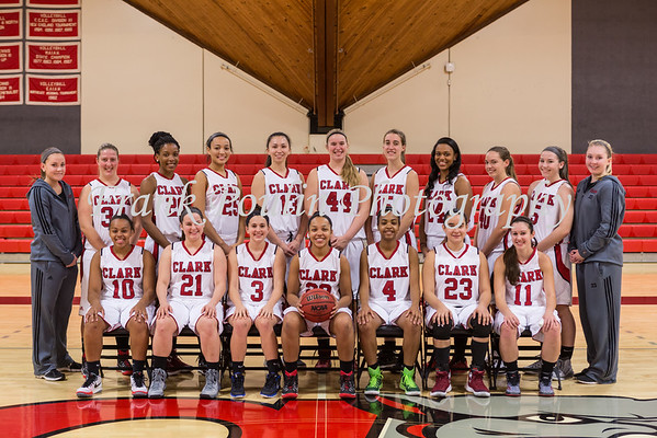 Clark women's basketball 11/20/2015