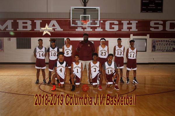 2018-2019 JV Boys Basketball
