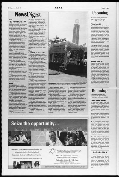Daily Trojan, Vol. 159, No. 28, September 29, 2006