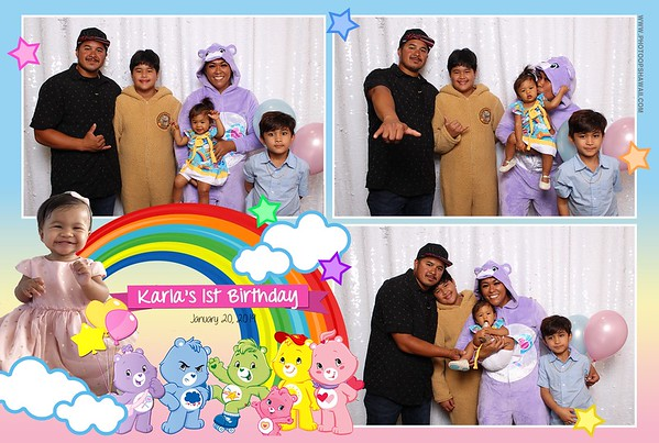 Karla's 1st Birthday (Photo Booth)