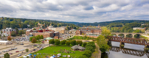 Aerial Views of Shelton Day (Shelton, CT) 10/7/18 at Veteran's Memorial Park.