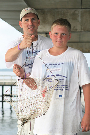 8:12:09 - Crabbin For Kids on the Pier in St. Simons Island, GA