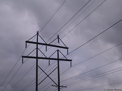 Power Pole Temporary Fix