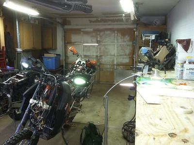 Motorcycle fabbing