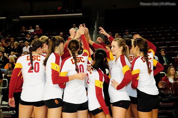 USC Women's Volleyball v ASU 2011