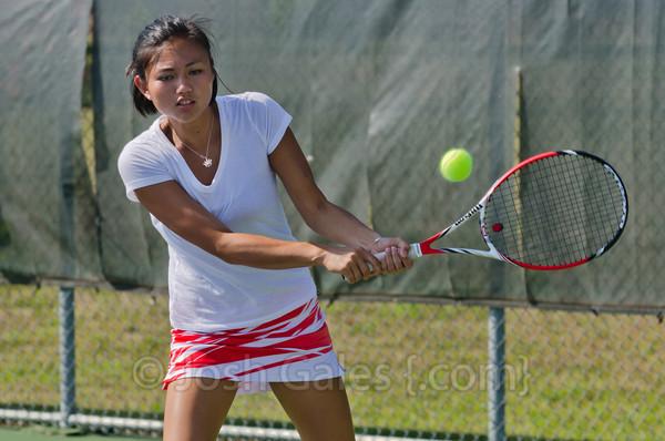 9/5/13 Women's Tennis vs. Anderson