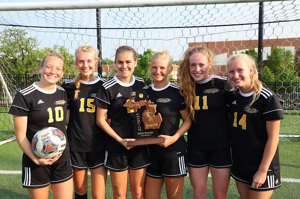 Soccer Girls District Champions - KCHS 5/2019