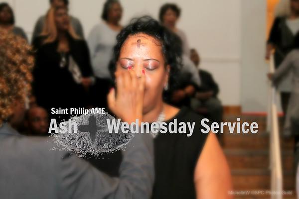 SPC Ash Wednesday Service 2018
