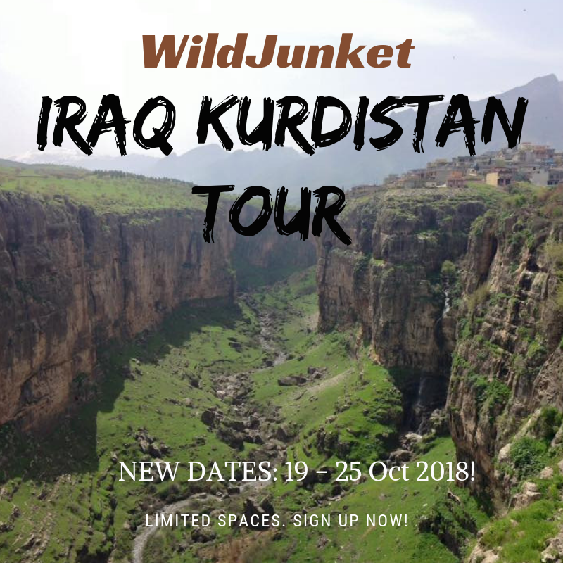Come Travel Iraqi Kurdistan with Me!