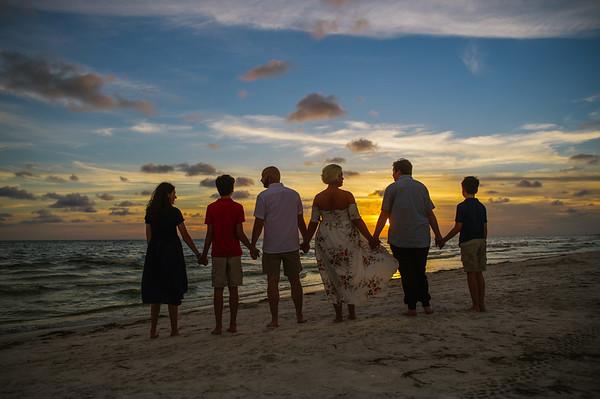 St Pete Beach Family Photos at Alden Suites
