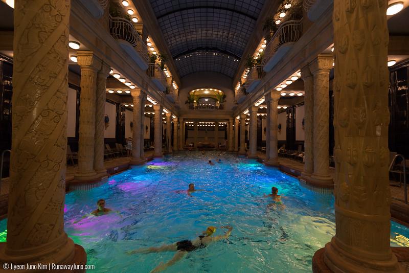Gellért Bath Swimming pool