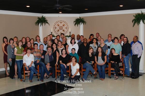 Class of 1990 CHS 20 Year Class Reunion