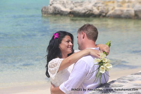Christopher & Samantha | February Point | Exuma, Bahamas