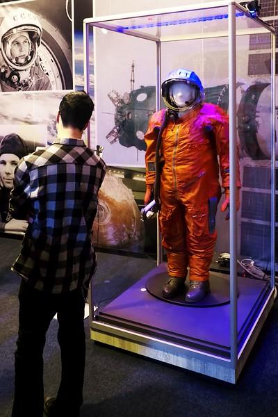 Skafandr pro mise Vostok