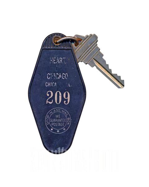 Heart of Chicago Motel Key