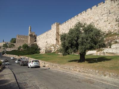 Old City, Ramparts Walk