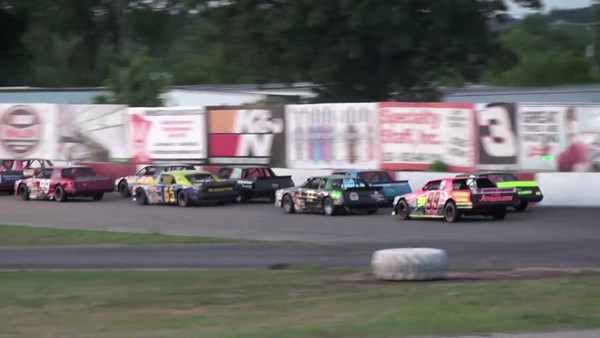 Hobby Stock Feature, Raceway Park, July 29th, 2012