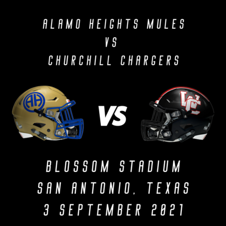 2021 Alamo Heights vs Churchill