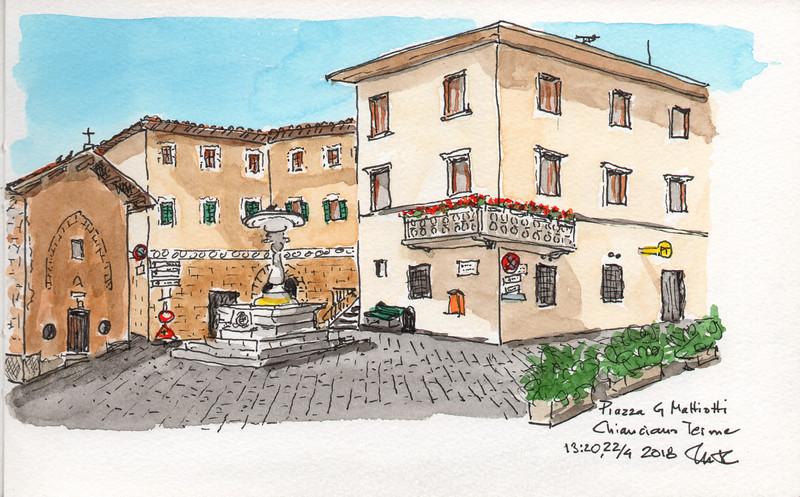 Piazza G Mattiotti, Chianciano Terme