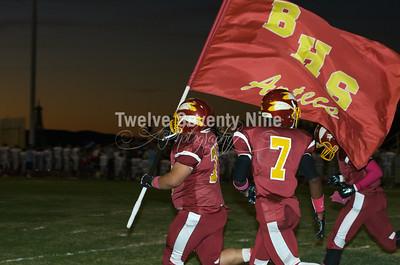 2014 BHS Aztecs Varsity Homecoming October 3