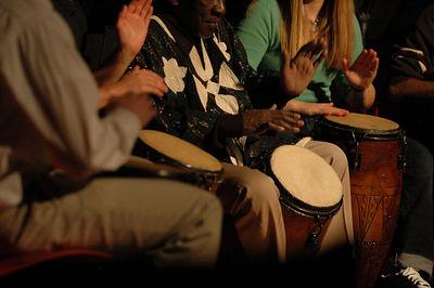 12-03-05 - Ghanian Drumming Ensemble