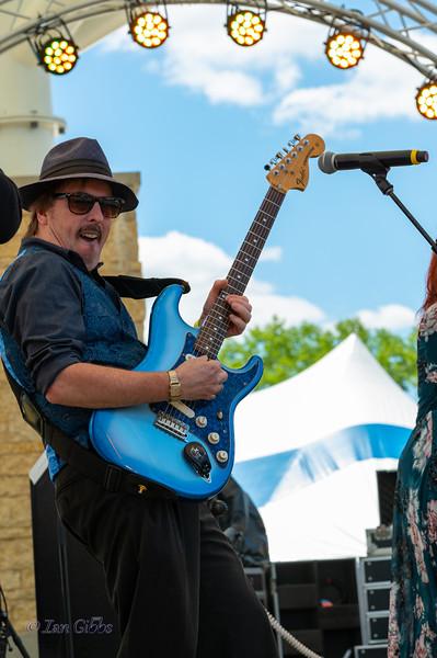 Mark Cameron Band at Northwoods Blues Festival - 210619