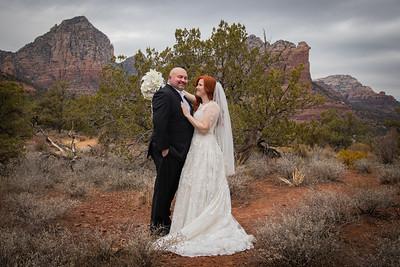 Suzie & Tim's Sedona Wedding