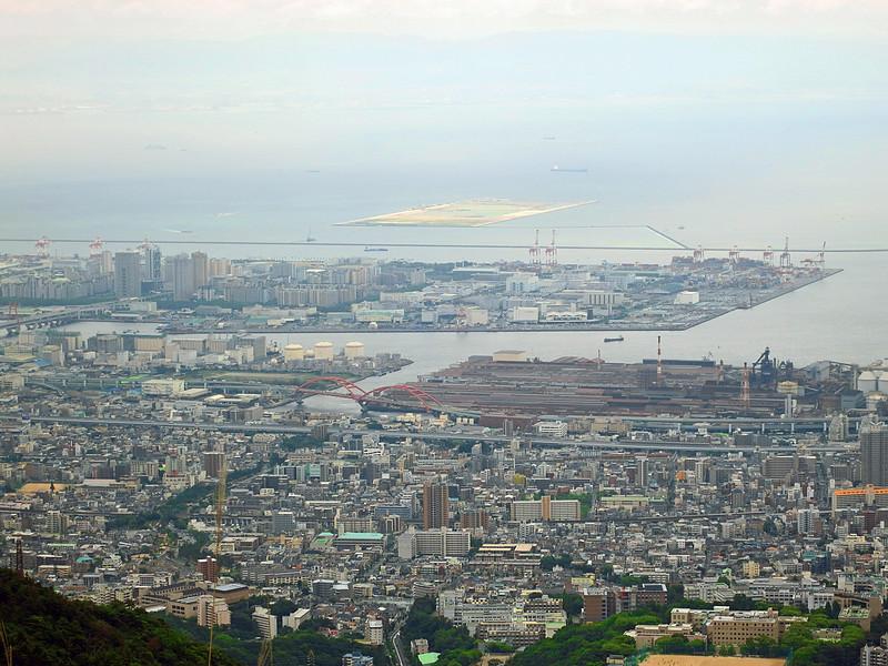 Kobe port from Mount Rokko