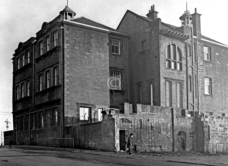 The Martyrs' School from Parson St. / Glebe St.     January 1976