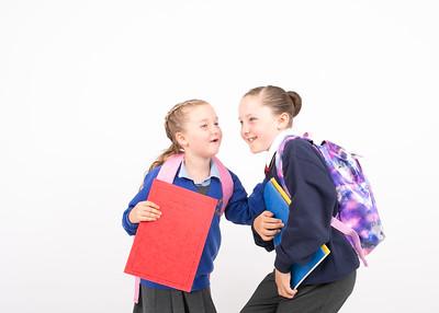 Jess &  Katie Chawson 1st school & Westacre