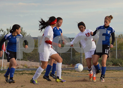 2014 girls soccer playoffs Rio Rico PHX Country Day