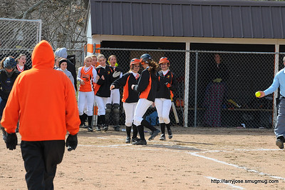 Jonesville vs Hillsdale Softball