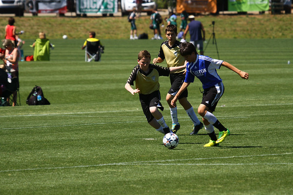 2014 KV Eagles vs SCS Clinton United