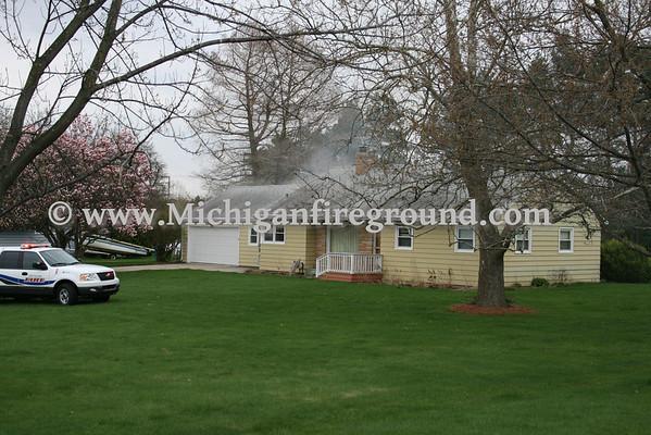 4/12/10 - Delhi Twp house fire, 3441 Harper Rd
