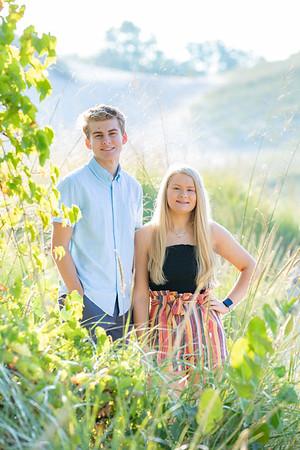 David and Olivia Swanson 2020