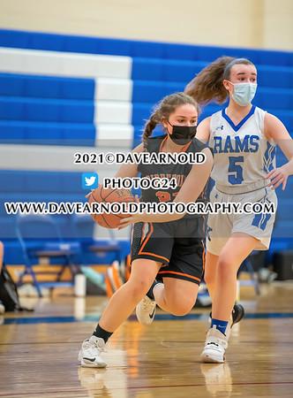 2/23/2021 - Girls JV Basketball - Biddeford vs Kennebunk