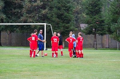 2011 Mustang Soccer - Strikers Game 1