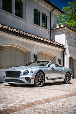 Bentley Continental GTC Silver