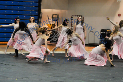 Collinsville HS Winter Guard