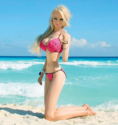 """. <p><b> While the sight of it is more than a little freakish and unbelievable, people combing the Internet this week have learned that � </b> <p> A. The Human Barbie is a real person <p> B. The Twin Cities� recent snowfall melted in just days <p> C. The Twins� Chris Colabello is leading the American League in RBIs <p><b><a href=\'http://www.gq.com/women/photos/201404/valeria-lukyanova-human-barbie-doll\' target=\""""_blank\"""">HUH?</a></b> <p>   (GQ magazine photo)"""