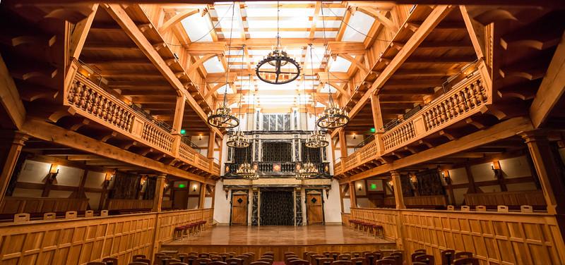 Blackfriars Playhouse Interior